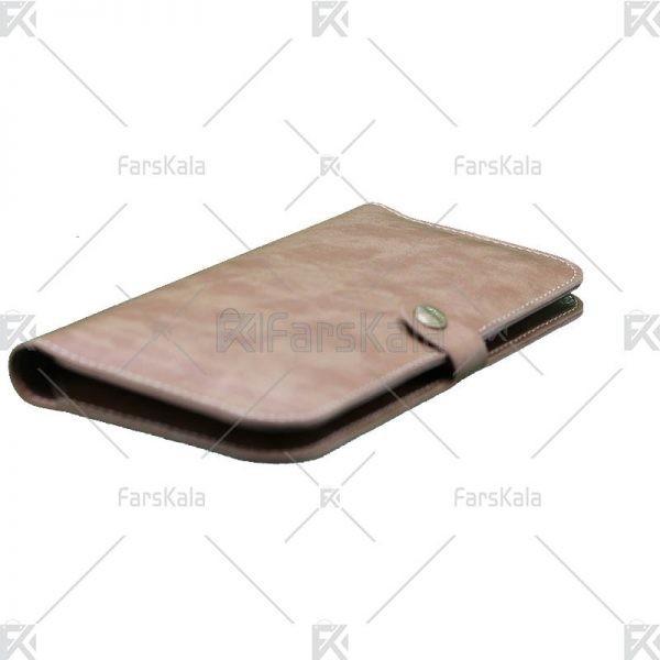 کیف چرمی نگهدارنده برای انواع گوشی WUW Leather P01 Mobile Case 6.2 Inch Bag